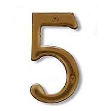 Solid Brass Address Number