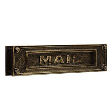 Mail Slot with Outgoing Mail