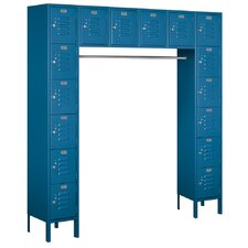6 Tier Standard Box Locker