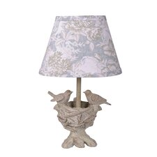 "Blessings 13"" H Table Lamp with Empire Shade"