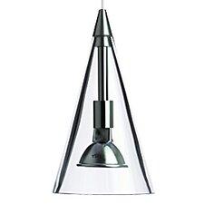 Cone 1 Light Two-Circuit Monorail Pendant