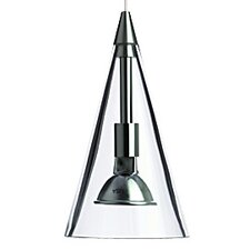 Cone 1 Light Two-Circuit Monorail Track Pendant