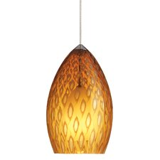 1 Light Firebird Pendant