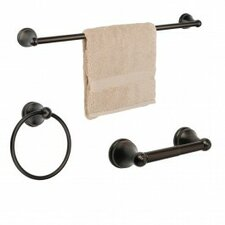 Brentwood 3 Piece Bathroom Hardware Set