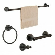 Brentwood 4 Piece Bathroom Hardware Set