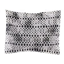 Jalli Vertical Diamond Throw Pillow