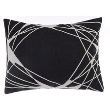 Jalli Abstract Applique Lumbar Pillow