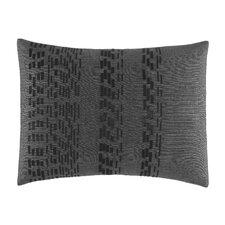 Pom Pom Ribbon Pleated Cotton Breakfast Pillow