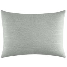 Painted Stripe Linear Cotton Breakfast Pillow