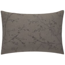 Winter Blossoms Branches Sateen Breakfast Pillow