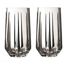Peplum Highball Glass (Set of 2)