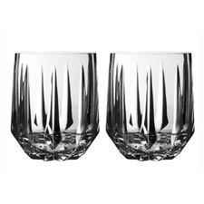 Peplum Old Fashioned Glass (Set of 2)