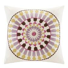 Vineyard Paisley Cotton Throw Pillow