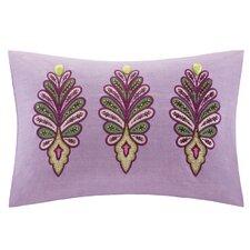 Vineyard Paisley Cotton Lumbar Pillow