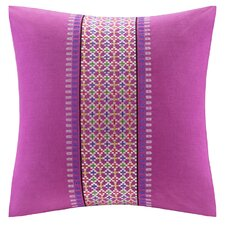 Vineyard Paisley Cotton Throw Pillow