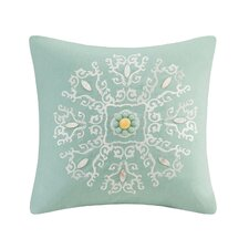 Indira Square Cotton Throw Pillow