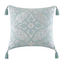 Lagos Embroidery Square Throw Pillow