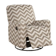 Sutton Vibes Truffle Swivel Glide Recliner