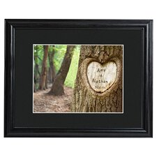Personalized Gift Tree of Love Framed Photographic Print