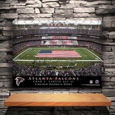 Personalized Stadium Photographic print on Canvas