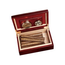 Personalized Gift Cherry Wood Humidor