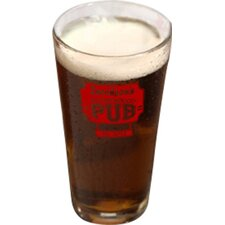 Personalized Gift Personalized Pub Pint Beer Glass (Set of 4)