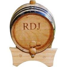 Personalized Gift 2 Liter Whiskey Barrel