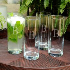 Personalized Gift Portico Cooler Glass (Set of 4)