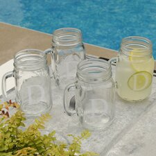 Personalized Gift Classic Glass Jar (Set of 4)