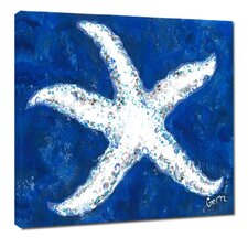 Starfish by Gerri Hyman Painting Print on Wrapped Canvas