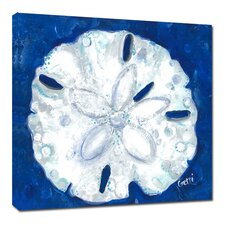 Sand Dollar by Gerri Hyman Painting Print on Wrapped Canvas