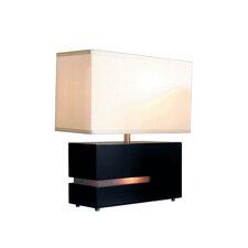 "Zen Reclining 19"" H Table Lamp with Rectangular Shade"