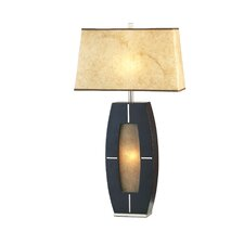 "Delacy 30"" H Table Lamp with Empire Shade"