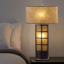 "Ventana 31"" H Table Lamp with Rectangular Shade"