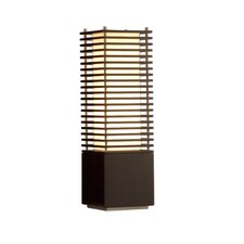 "Kimura 26"" H Table Lamp with Rectangular Shade"