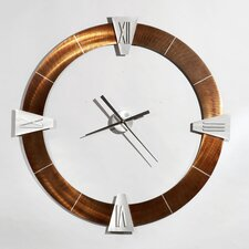 "Jon Gilmore Oversized 36"" Deco Wall Clock"