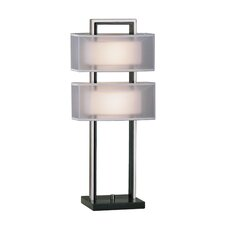 "Amarillo 28"" H Table Lamp with Rectangular Shade"