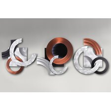 Swingers Infinity Graphic Art  Plaque