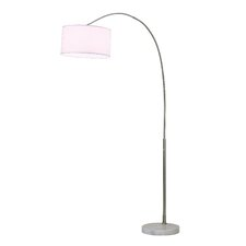 "Float 87"" Arched Floor Lamp"