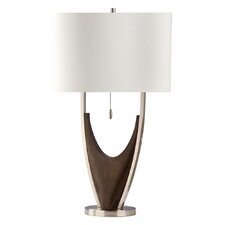 "Hull 28"" H Table Lamp with Drum Shade"