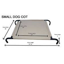 Heavy-Duty Canvas Cot Dog Furniture Style