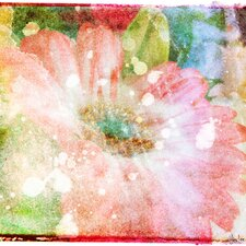 Flower Fairytale Graphic Art on Wrapped Canvas