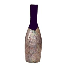 Small Violet Shell Table Top Vase