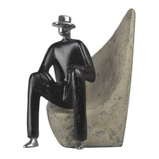 Mystery Man Bookend