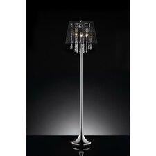 """Nightfall Crystal 63.5"""" Floor Lamp"""