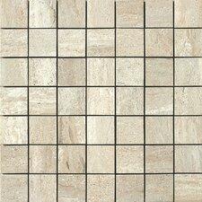 Travertini Porcelain Mosaic Tile in Beige