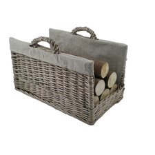 Open Log Basket