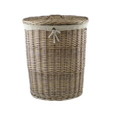 5 Piece Laundry Hamper and Waste Paper Basket Set