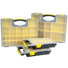 Parts and Crafts 4 Piece Portable Tool Organizer Set