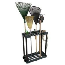 Rolling Garden Tool Rack